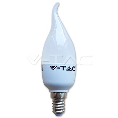 Bec LED Lumanare flacara