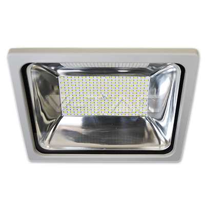 Proiector LED Clasic 100W Premium corp gri SMD Alb natural