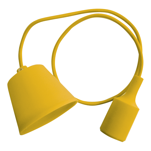 e27-pendant-holder-yellow-body